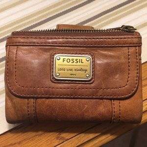 Fossil Emory Trifold Multifunction wallet